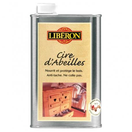 Cire abeilles liquide 0.5L Liberon miel