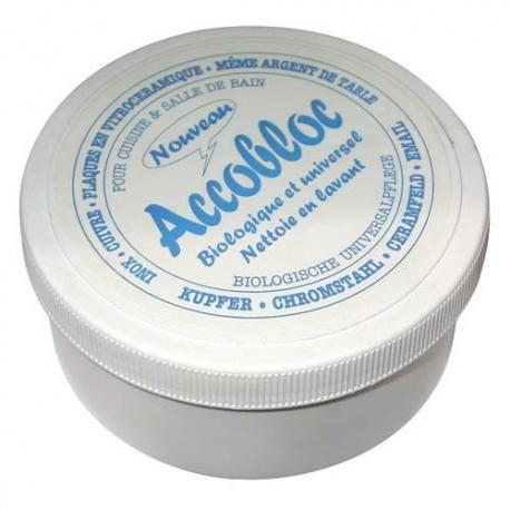 Nettoyant plaque vitro ACCOBLOC 400g