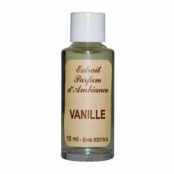 Extrait de parfum 15ml vanille