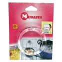 Anti monte lait en verre METALTEX