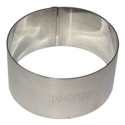 Cercle à gâteaux en inox d.7cm h.3.5 cm PATISSE