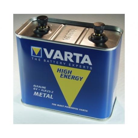 Pile 4R25/2 alcaline métal x 1