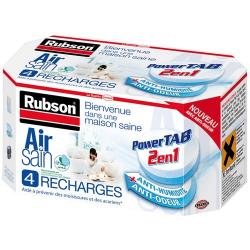 Recharge Power Tab Air Sain x 4 - RUBSON