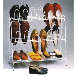 Range chaussures 12 paires - En fil plastifié - RAYEN