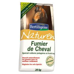 Fumier de cheval 20kg Naturen - Fertiligène
