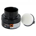 Crème autobrillante+ éponge noir 50ML