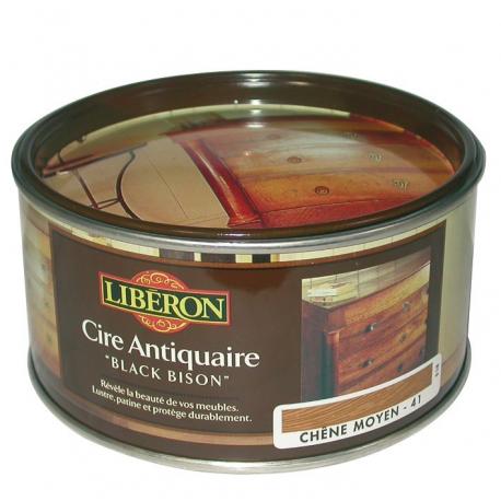 Cire Black Bison 500CC Liberon merisier clair
