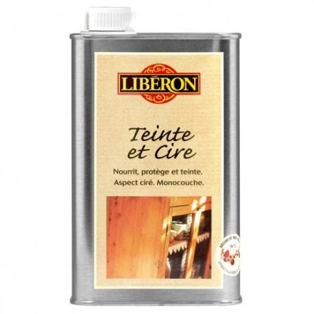 Teinte et cire Liberon chêne clair 0,5l