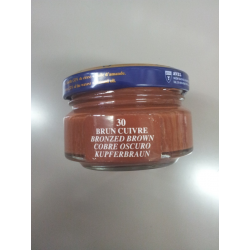 Pommadier Saphir pot 50ML brun cuivre