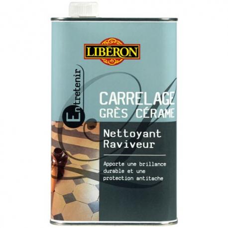 Nettoyant raviveur carrelage grès cérame 1l