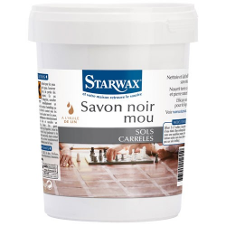 STARWAX savon noir mou 1k