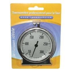 Thermomètre four 50 à 300°C blister INOVALLEY