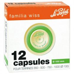 Capsule x12 Familia Wiss 100mm
