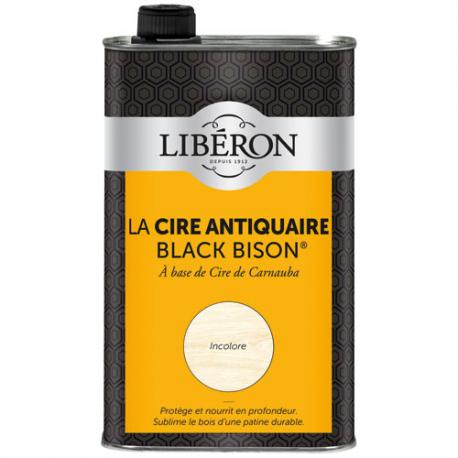 Cire black bison Liberon incolore 0.5L