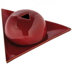 Brûleur papier Arménie céramique rouge