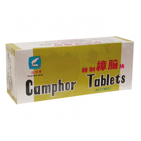 Camphre tablettes paquet 250GR