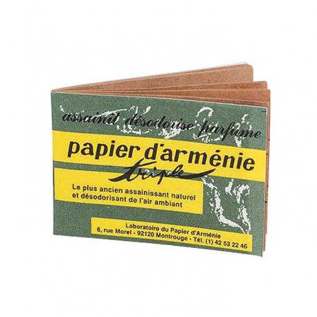 Papier Arménie paquet 12 carnets