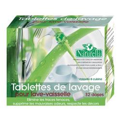 NATURELLA tablettes de lavage pour lave-vaisselle x32