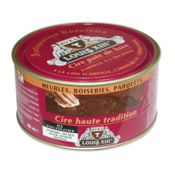 Cire pâte de luxe haute tradition Louis13 AVEL incolore 500ML