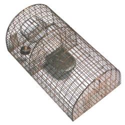 Nasse à rats demi ronde cuivrée